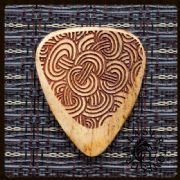 Laser Tones Grip - Pack of 4 Guitar Picks | Timber Tones